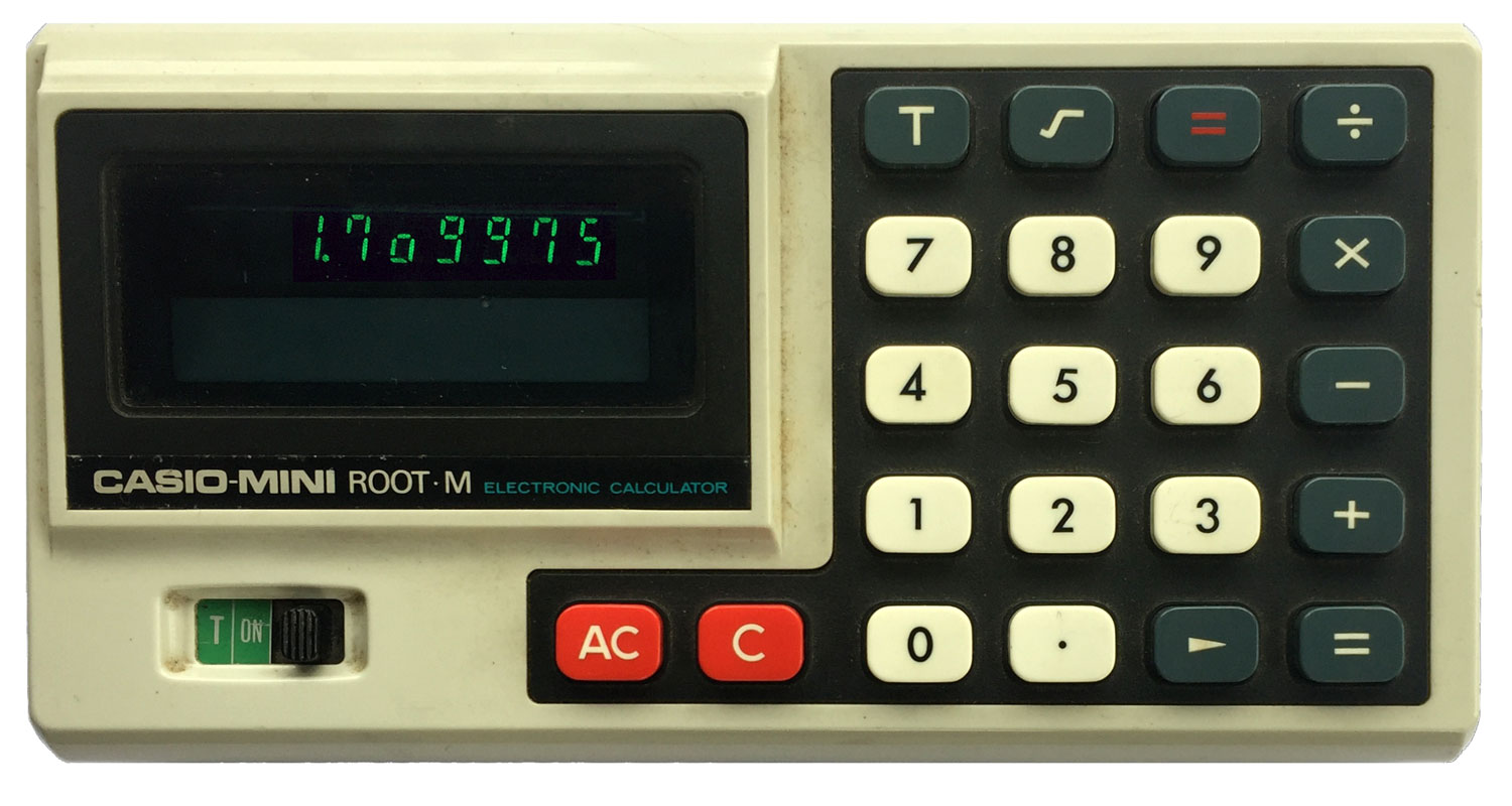 Casio Root Mini-M calculator